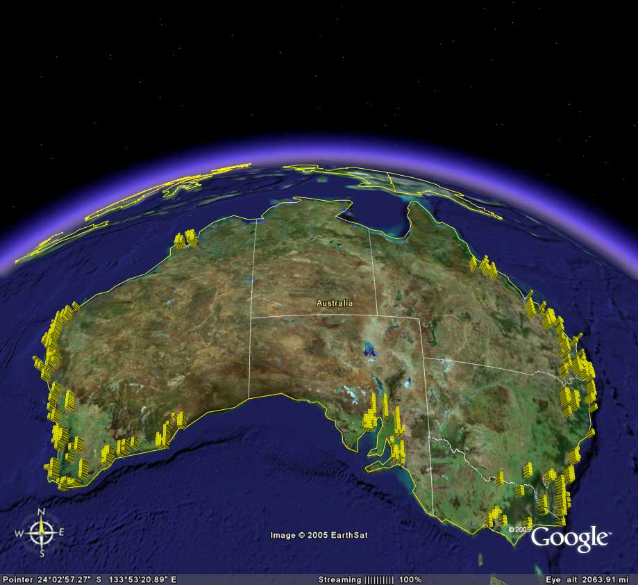 google maps 2005