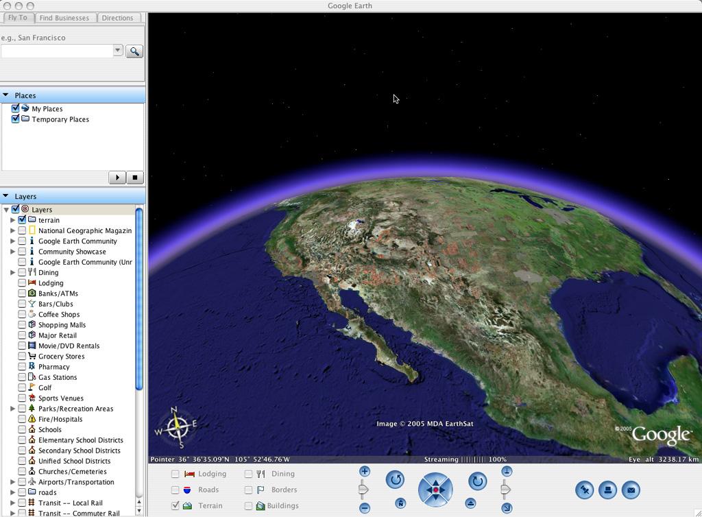 screenshot google earth