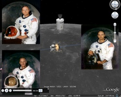 Apollo 11 Tour in Google Earth