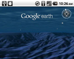 Google Earth 1.1 for Android
