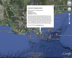 Oil Spill Recovery Map