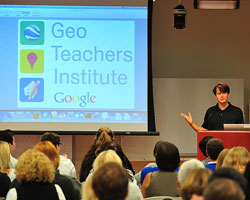 Geo Teachers Institute and Geo Bee