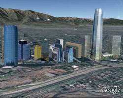 New Chilean Cities in Building Maker