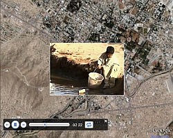 Afghanistan News in Google Earth