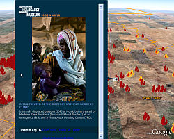 Crisis in Darfur Layer in Google Earth