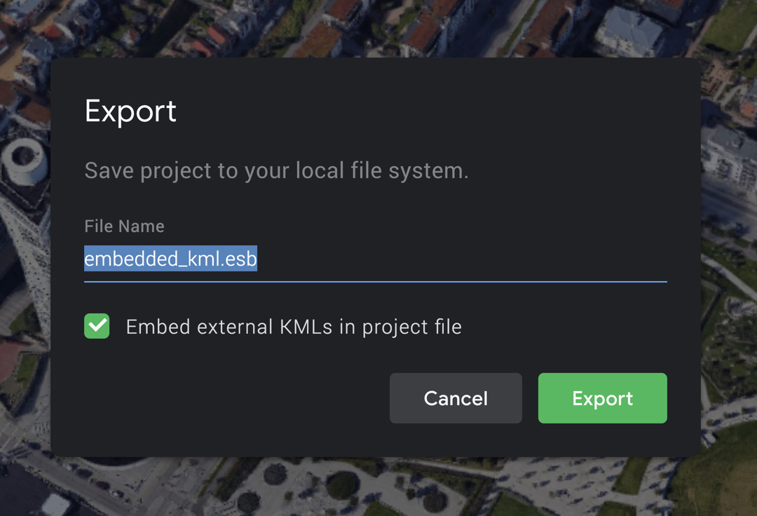 Embedding a KML in your project