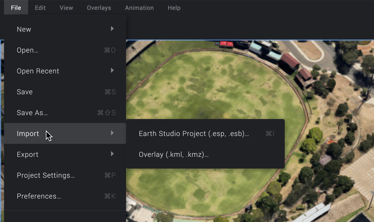 Project Management – Google Earth Studio